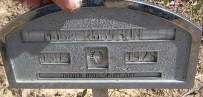 ROBINSON, MOSE - Bowie County, Texas | MOSE ROBINSON - Texas Gravestone Photos