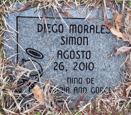 SIMON, DIEGO MORALES - Bowie County, Texas | DIEGO MORALES SIMON - Texas Gravestone Photos