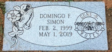 SIMON, DOMINGO F - Bowie County, Texas | DOMINGO F SIMON - Texas Gravestone Photos