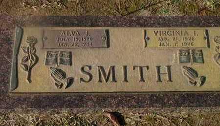 SMITH, VIRGINIA I - Bowie County, Texas | VIRGINIA I SMITH - Texas Gravestone Photos
