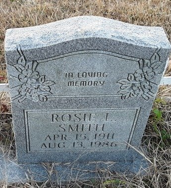 SMITH, ROSIE L - Bowie County, Texas | ROSIE L SMITH - Texas Gravestone Photos