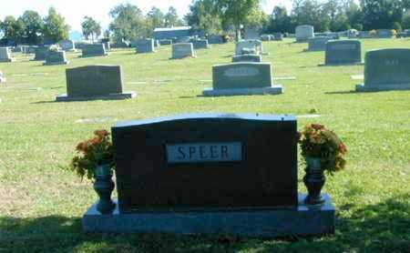 SPEER, FAMILY MARKER - Bowie County, Texas | FAMILY MARKER SPEER - Texas Gravestone Photos