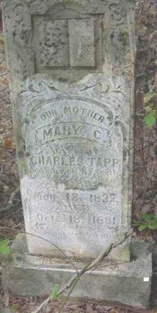 TAPP, MARY C. - Bowie County, Texas   MARY C. TAPP - Texas Gravestone Photos