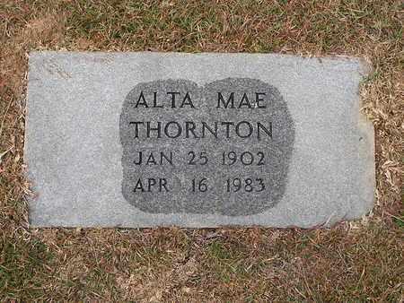 THORNTON, ALTA MAE - Bowie County, Texas | ALTA MAE THORNTON - Texas Gravestone Photos