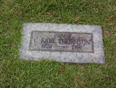 THORNTON, C EARL - Bowie County, Texas   C EARL THORNTON - Texas Gravestone Photos
