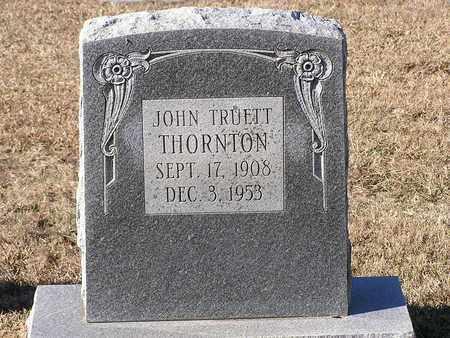 THORNTON, JOHN TRUETT - Bowie County, Texas | JOHN TRUETT THORNTON - Texas Gravestone Photos