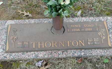 GOAD THORNTON, JANIS - Bowie County, Texas | JANIS GOAD THORNTON - Texas Gravestone Photos
