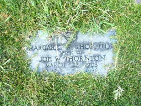 THORNTON, MARGARET M - Bowie County, Texas | MARGARET M THORNTON - Texas Gravestone Photos