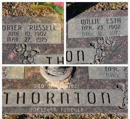 THORNTON, PORTER RUSSELL - Bowie County, Texas   PORTER RUSSELL THORNTON - Texas Gravestone Photos