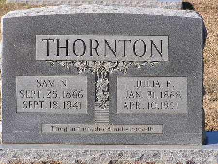 THORNTON, JULIA E - Bowie County, Texas | JULIA E THORNTON - Texas Gravestone Photos