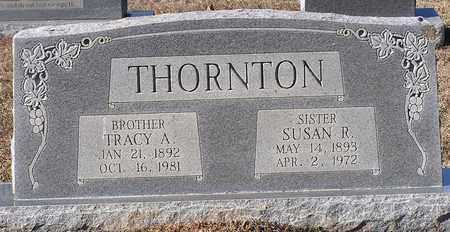 THORNTON, SUSAN R - Bowie County, Texas | SUSAN R THORNTON - Texas Gravestone Photos