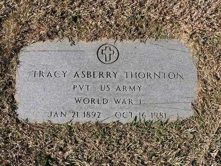 THORNTON (VETERAN WWI), TRACY ASBERRY - Bowie County, Texas | TRACY ASBERRY THORNTON (VETERAN WWI) - Texas Gravestone Photos