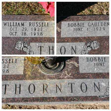THORNTON, WILLIAM RUSSELL - Bowie County, Texas | WILLIAM RUSSELL THORNTON - Texas Gravestone Photos