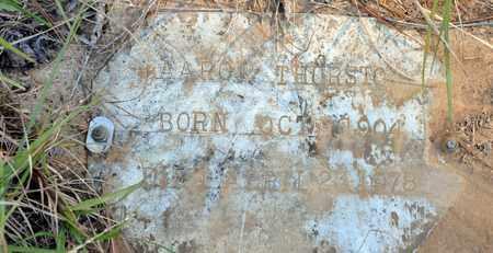 THURSTON, AARON - Bowie County, Texas | AARON THURSTON - Texas Gravestone Photos