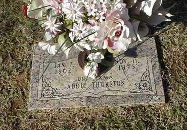 THURSTON, ADDIE - Bowie County, Texas | ADDIE THURSTON - Texas Gravestone Photos
