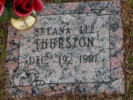 THURSTON, BREANA LEE - Bowie County, Texas   BREANA LEE THURSTON - Texas Gravestone Photos