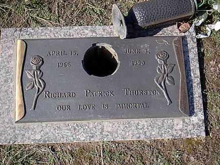 THURSTON, RICHARD PATRICK - Bowie County, Texas | RICHARD PATRICK THURSTON - Texas Gravestone Photos