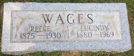 WAGES, LUCINDY - Bowie County, Texas | LUCINDY WAGES - Texas Gravestone Photos