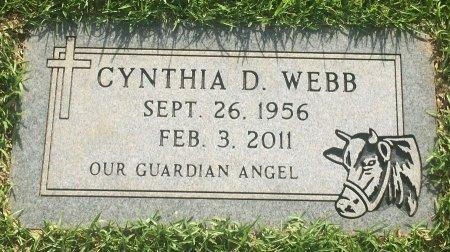WEBB, CYNTHIA D - Bowie County, Texas | CYNTHIA D WEBB - Texas Gravestone Photos