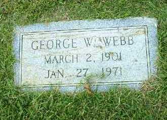 WEBB, GEORGE W - Bowie County, Texas   GEORGE W WEBB - Texas Gravestone Photos