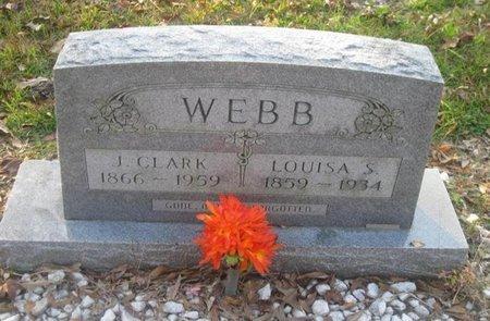 WEBB, LOUISA S. - Bowie County, Texas | LOUISA S. WEBB - Texas Gravestone Photos