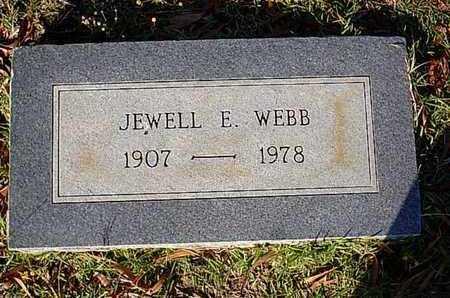 WEBB, JEWELL E - Bowie County, Texas | JEWELL E WEBB - Texas Gravestone Photos
