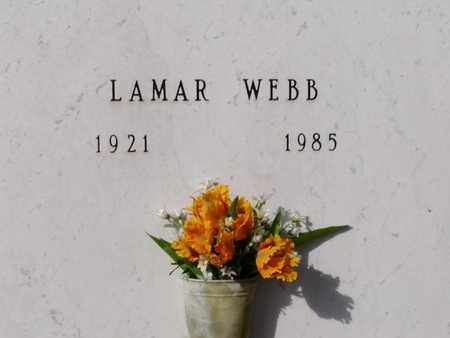 WEBB, LAMAR - Bowie County, Texas   LAMAR WEBB - Texas Gravestone Photos