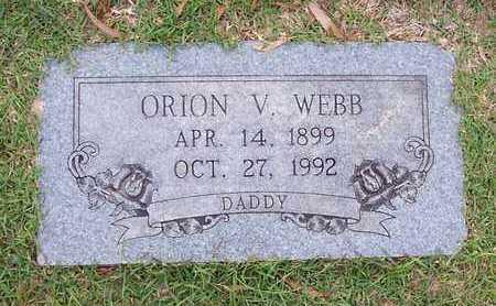 WEBB, ORION V - Bowie County, Texas | ORION V WEBB - Texas Gravestone Photos
