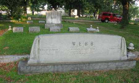 WEBB, JOSEPHINE - Bowie County, Texas   JOSEPHINE WEBB - Texas Gravestone Photos