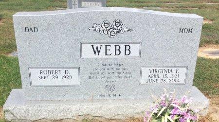 WEBB, VIRGINIA F - Bowie County, Texas | VIRGINIA F WEBB - Texas Gravestone Photos