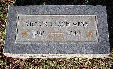 WEBB, VICTOR LEACH - Bowie County, Texas | VICTOR LEACH WEBB - Texas Gravestone Photos
