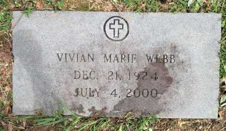 WEBB, VIVIAN MARIE - Bowie County, Texas | VIVIAN MARIE WEBB - Texas Gravestone Photos