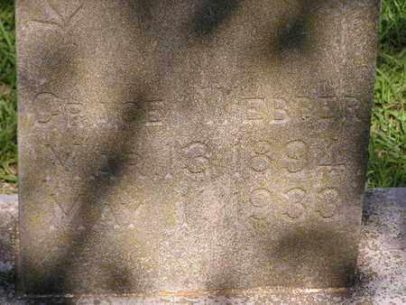 WEBBER, GRACE  (CLOSEUP) - Bowie County, Texas   GRACE  (CLOSEUP) WEBBER - Texas Gravestone Photos