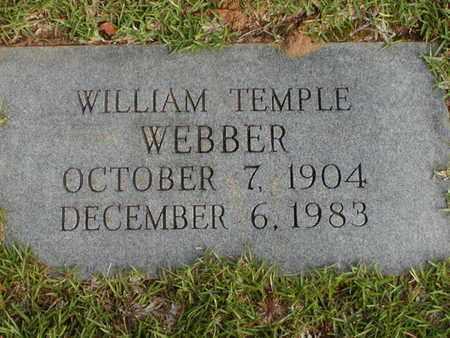 WEBBER, WILLIAM TEMPLE - Bowie County, Texas | WILLIAM TEMPLE WEBBER - Texas Gravestone Photos