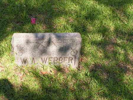 WEBBER, W A - Bowie County, Texas | W A WEBBER - Texas Gravestone Photos