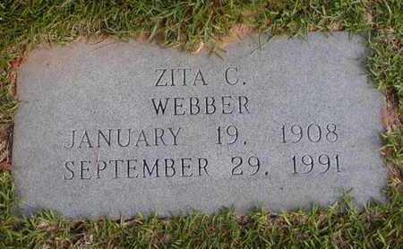 WEBBER, ZITA C - Bowie County, Texas   ZITA C WEBBER - Texas Gravestone Photos