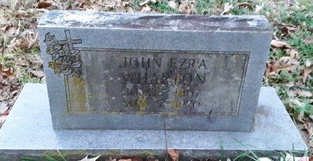 WHARTON, JOHN EZRA - Bowie County, Texas | JOHN EZRA WHARTON - Texas Gravestone Photos