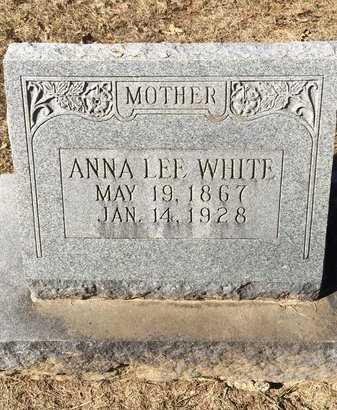 WHITE, ANNA LEE - Bowie County, Texas | ANNA LEE WHITE - Texas Gravestone Photos
