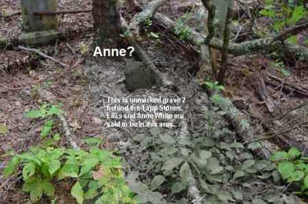 WHITE, ANNE B - Bowie County, Texas   ANNE B WHITE - Texas Gravestone Photos
