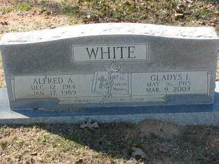 WHITE, GLADYS I - Bowie County, Texas | GLADYS I WHITE - Texas Gravestone Photos