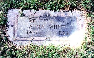 WHITE, ALMA - Bowie County, Texas | ALMA WHITE - Texas Gravestone Photos