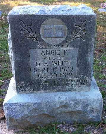 WHITE, ANGIE P - Bowie County, Texas | ANGIE P WHITE - Texas Gravestone Photos