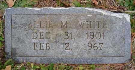WHITE, ALLIE M - Bowie County, Texas | ALLIE M WHITE - Texas Gravestone Photos