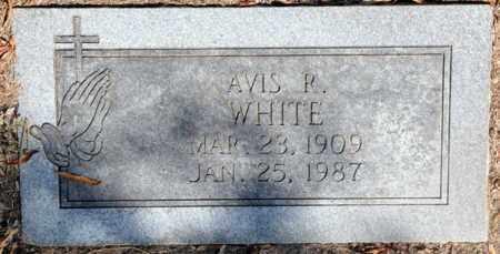 WHITE, AVIS R. - Bowie County, Texas | AVIS R. WHITE - Texas Gravestone Photos