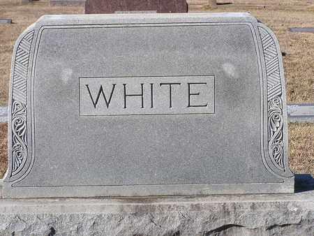 WHITE, FAMILY MARKER - Bowie County, Texas | FAMILY MARKER WHITE - Texas Gravestone Photos