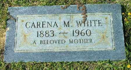 WHITE, CARENA M - Bowie County, Texas | CARENA M WHITE - Texas Gravestone Photos