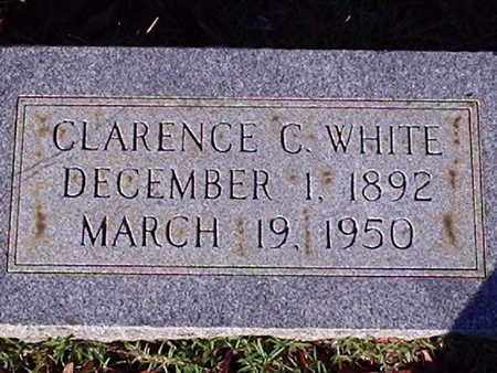 WHITE, CLARENCE C - Bowie County, Texas | CLARENCE C WHITE - Texas Gravestone Photos