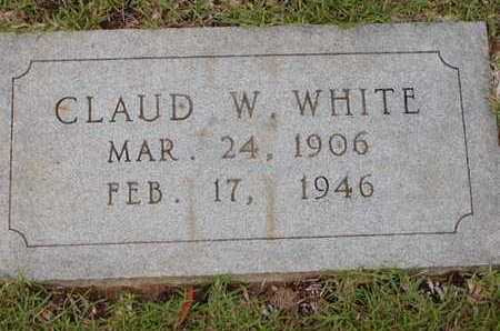 WHITE, CLAUD W - Bowie County, Texas | CLAUD W WHITE - Texas Gravestone Photos