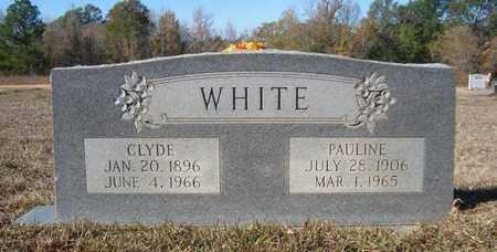WHITE, PAULINE - Bowie County, Texas   PAULINE WHITE - Texas Gravestone Photos