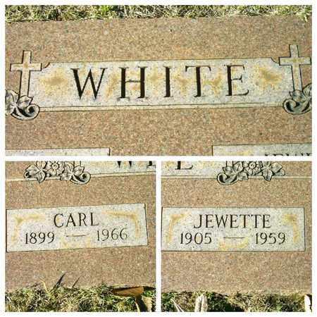 WHITE, JEWETTE - Bowie County, Texas | JEWETTE WHITE - Texas Gravestone Photos